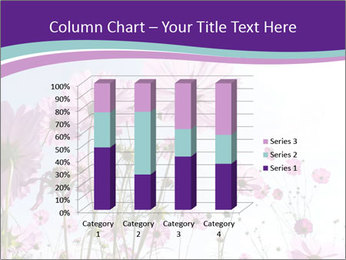 Pink Flower Blossom PowerPoint Template - Slide 50