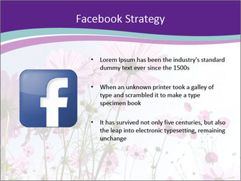 Pink Flower Blossom PowerPoint Template - Slide 6