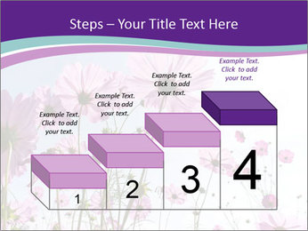 Pink Flower Blossom PowerPoint Template - Slide 64
