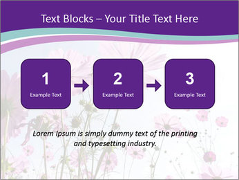 Pink Flower Blossom PowerPoint Template - Slide 71