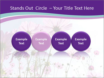 Pink Flower Blossom PowerPoint Template - Slide 76