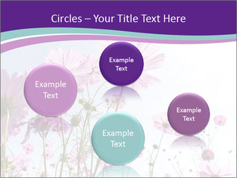 Pink Flower Blossom PowerPoint Template - Slide 77