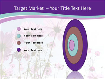 Pink Flower Blossom PowerPoint Template - Slide 84