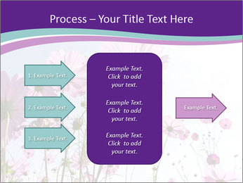 Pink Flower Blossom PowerPoint Templates - Slide 85