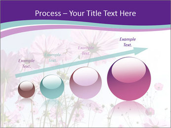 Pink Flower Blossom PowerPoint Template - Slide 87