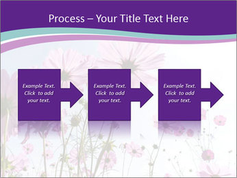 Pink Flower Blossom PowerPoint Template - Slide 88