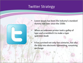 Pink Flower Blossom PowerPoint Template - Slide 9