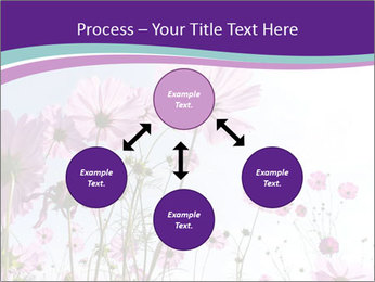 Pink Flower Blossom PowerPoint Template - Slide 91