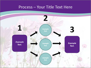 Pink Flower Blossom PowerPoint Template - Slide 92