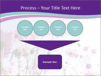 Pink Flower Blossom PowerPoint Template - Slide 93