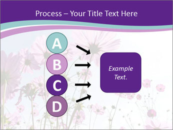 Pink Flower Blossom PowerPoint Templates - Slide 94