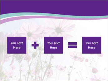 Pink Flower Blossom PowerPoint Template - Slide 95