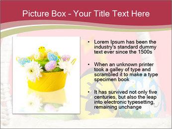 Easter Eggs Decor PowerPoint Template - Slide 13