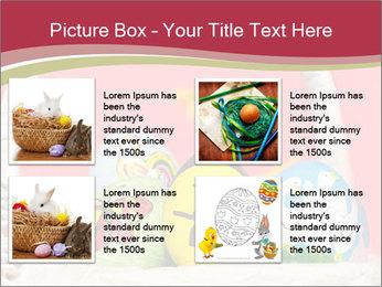 Easter Eggs Decor PowerPoint Template - Slide 14