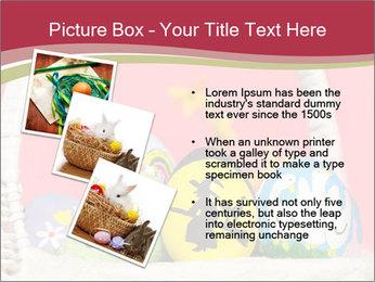 Easter Eggs Decor PowerPoint Template - Slide 17