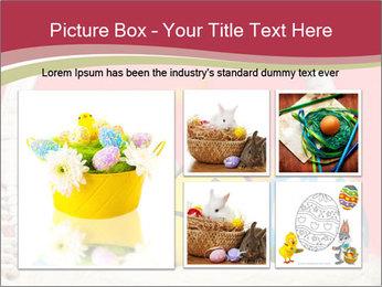 Easter Eggs Decor PowerPoint Template - Slide 19