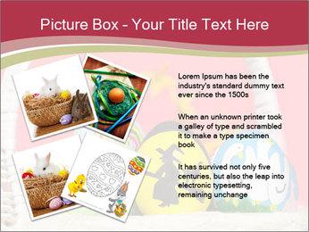 Easter Eggs Decor PowerPoint Template - Slide 23