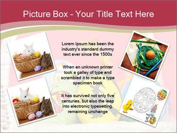 Easter Eggs Decor PowerPoint Template - Slide 24