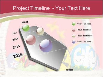 Easter Eggs Decor PowerPoint Template - Slide 26
