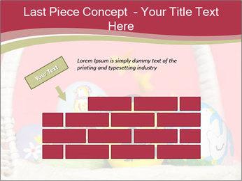 Easter Eggs Decor PowerPoint Template - Slide 46