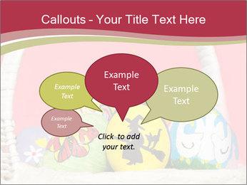 Easter Eggs Decor PowerPoint Template - Slide 73