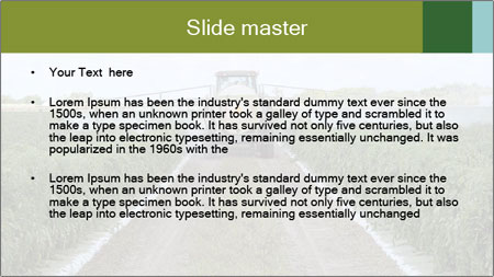 Insecticide Machinery PowerPoint Template - Slide 2
