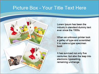 Blue Rabbit PowerPoint Template - Slide 23
