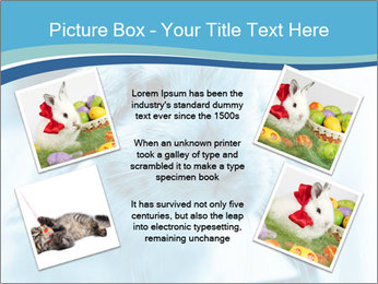 Blue Rabbit PowerPoint Template - Slide 24