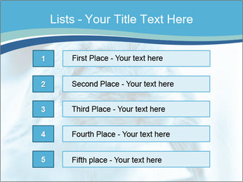 Blue Rabbit PowerPoint Template - Slide 3