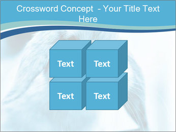 Blue Rabbit PowerPoint Template - Slide 39