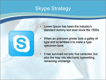 Blue Rabbit PowerPoint Template - Slide 8