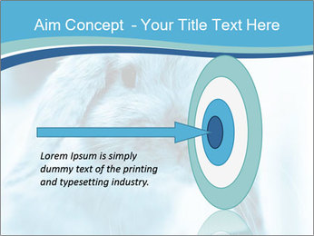 Blue Rabbit PowerPoint Template - Slide 83