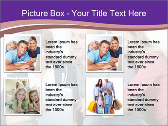 All Family Watching At Tablet Screen PowerPoint Template - Slide 14