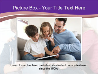 All Family Watching At Tablet Screen PowerPoint Template - Slide 15