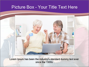 All Family Watching At Tablet Screen PowerPoint Template - Slide 16