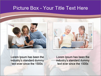 All Family Watching At Tablet Screen PowerPoint Template - Slide 18