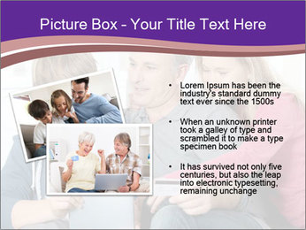 All Family Watching At Tablet Screen PowerPoint Template - Slide 20