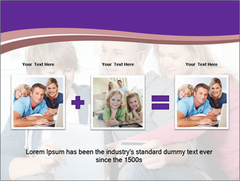 All Family Watching At Tablet Screen PowerPoint Templates - Slide 22