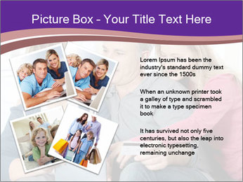 All Family Watching At Tablet Screen PowerPoint Template - Slide 23