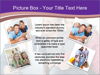 All Family Watching At Tablet Screen PowerPoint Template - Slide 24