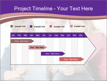 All Family Watching At Tablet Screen PowerPoint Templates - Slide 25