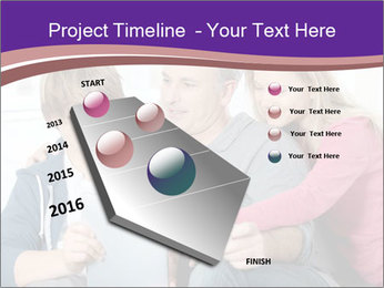 All Family Watching At Tablet Screen PowerPoint Template - Slide 26