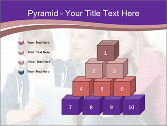 All Family Watching At Tablet Screen PowerPoint Template - Slide 31
