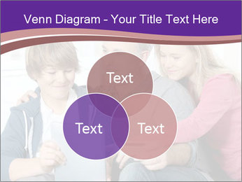 All Family Watching At Tablet Screen PowerPoint Template - Slide 33
