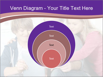 All Family Watching At Tablet Screen PowerPoint Template - Slide 34