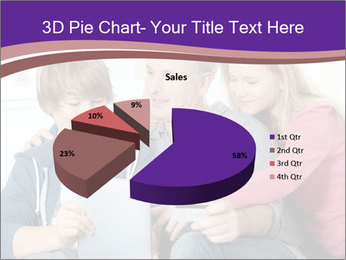 All Family Watching At Tablet Screen PowerPoint Templates - Slide 35