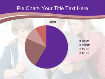 All Family Watching At Tablet Screen PowerPoint Template - Slide 36