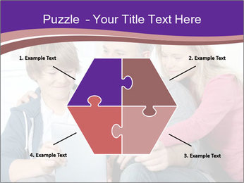 All Family Watching At Tablet Screen PowerPoint Templates - Slide 40