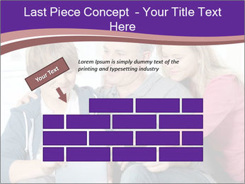 All Family Watching At Tablet Screen PowerPoint Template - Slide 46