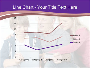 All Family Watching At Tablet Screen PowerPoint Template - Slide 54